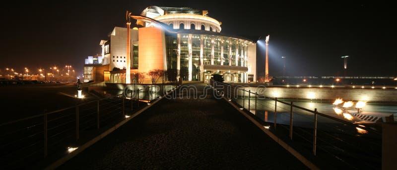 Nationaltheater Ungarn lizenzfreies stockbild