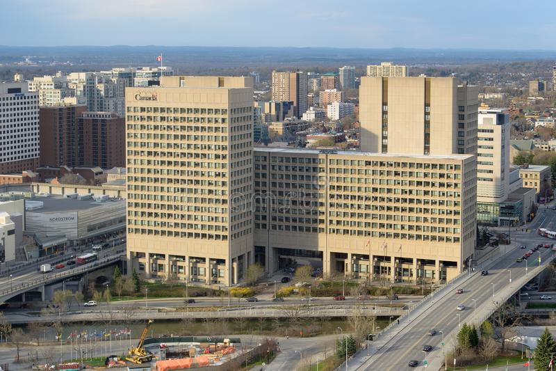 Nationalverteidigungs-Hauptsitze, Ottawa stockbilder