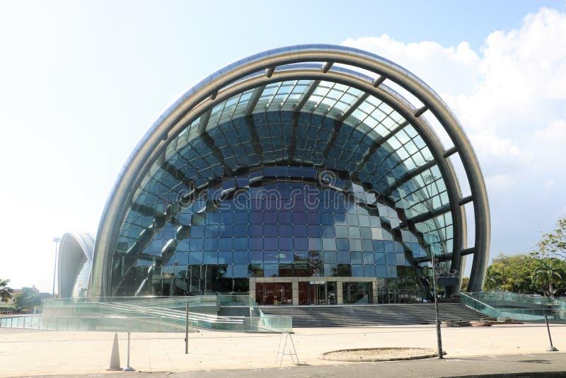 Nationell akademi för föreställningskonsten i port - av - Spanien, Trinidad och Tobago arkivfoton