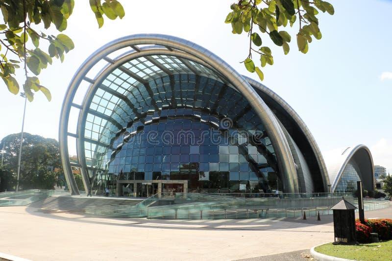 Nationell akademi för föreställningskonsten i port - av - Spanien, Trinidad och Tobago royaltyfri bild