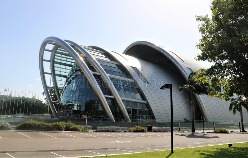 Nationell akademi för föreställningskonsten i port - av - Spanien, Trinidad och Tobago royaltyfria bilder