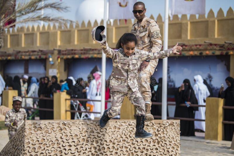 Nationell dag Doha, Qatar fotografering för bildbyråer