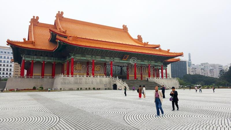 Nationell musik Hall av Taipei arkivbild