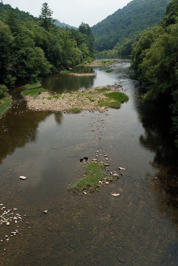nationell obed södra parkflod för stor gaffel arkivfoton