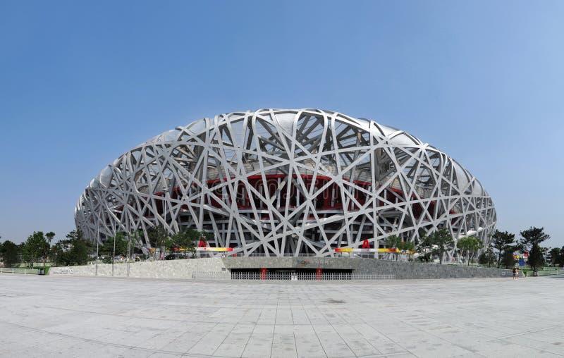nationell olympic stadion för porslin royaltyfri foto