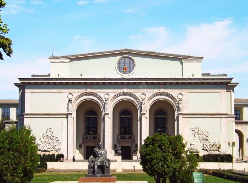 Nationell operahus i Bucharest royaltyfria foton