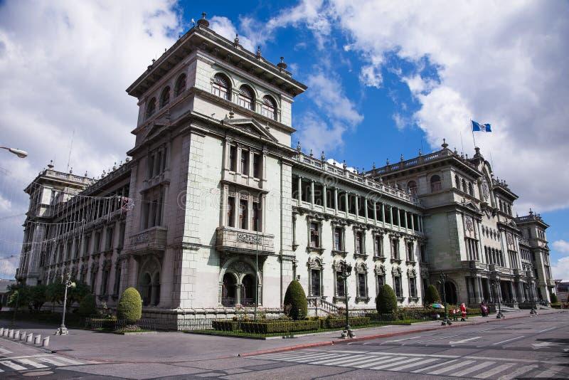 Nationell slott av kultur i Guatemala City, Guatemala royaltyfri bild