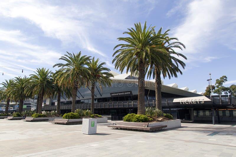 Nationell tennismitt - Melbourne royaltyfri foto