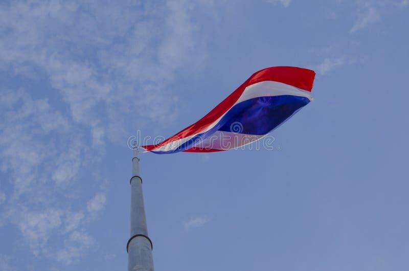 Nationell thailändsk flagga arkivfoton