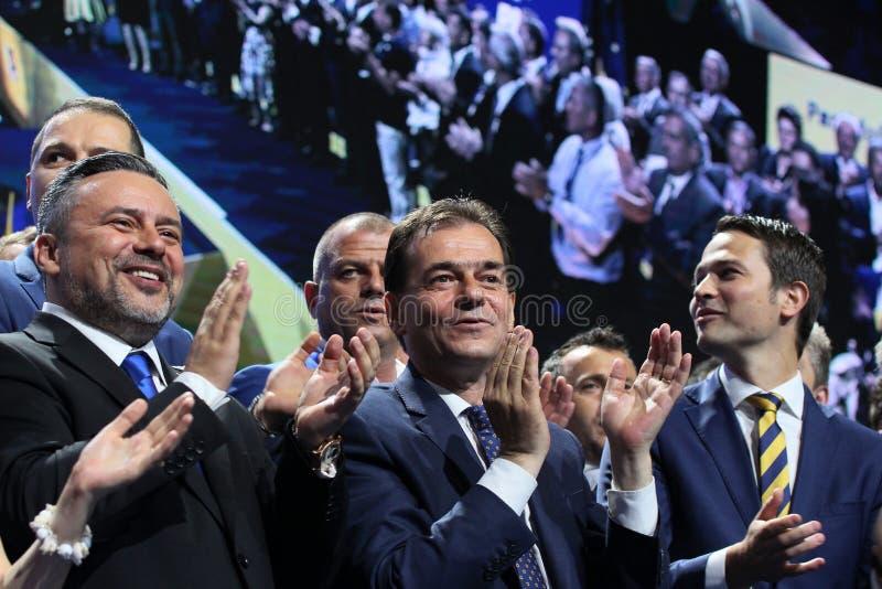 Nationella val för frisinnat parti - Rumänien royaltyfri bild
