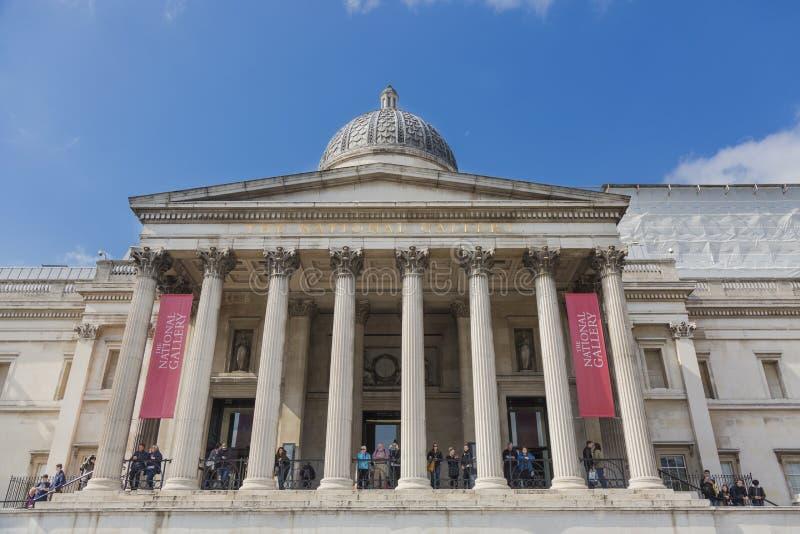 Nationellt galleri av london royaltyfri fotografi