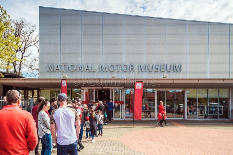 Nationellt motormuseum av södra Australien arkivbild