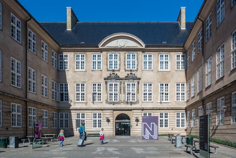Nationellt museum av Danmark royaltyfria foton