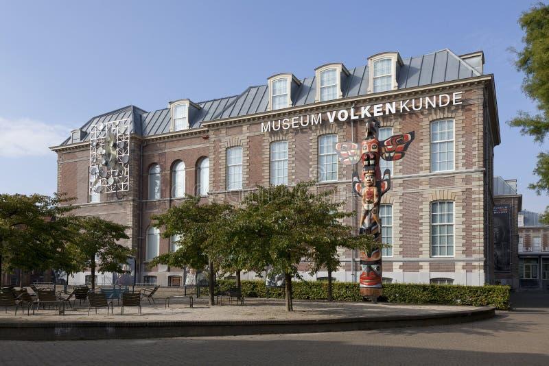 Nationellt museum av etnologi i Leiden royaltyfria foton