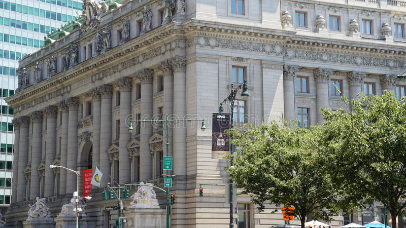 Nationellt museum av indianen i New York royaltyfria bilder