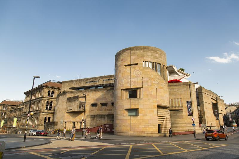 Nationellt museum av Skottland royaltyfri fotografi