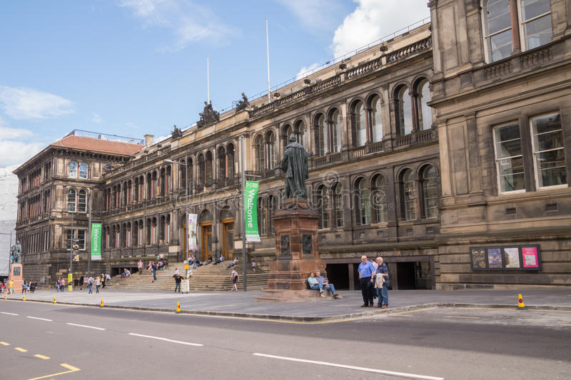 Nationellt museum av Skottland, Edinburg royaltyfri bild