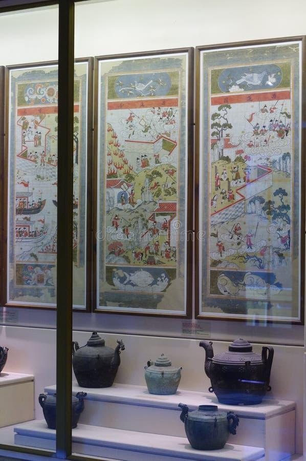 Nationellt museum av vietnamesisk historia royaltyfri foto