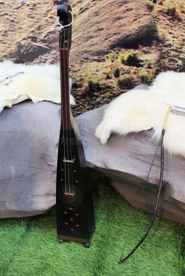Nationellt musikinstrument royaltyfria bilder