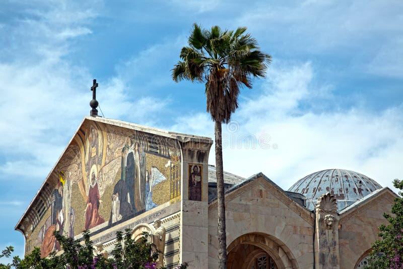 Nationer för kyrka allra - Gethsemane arkivfoton