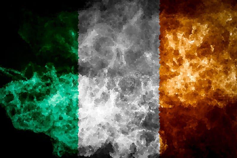 Nationsflagga av Irland vektor illustrationer