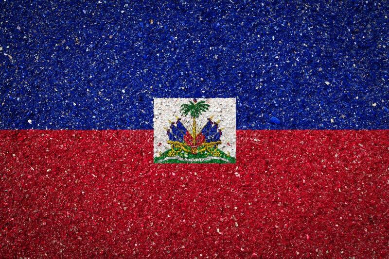 Nationsflagga på en stenbakgrund royaltyfri fotografi