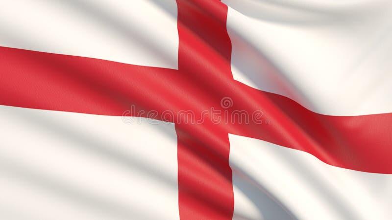 Nationsflaggan av England arkivfoto