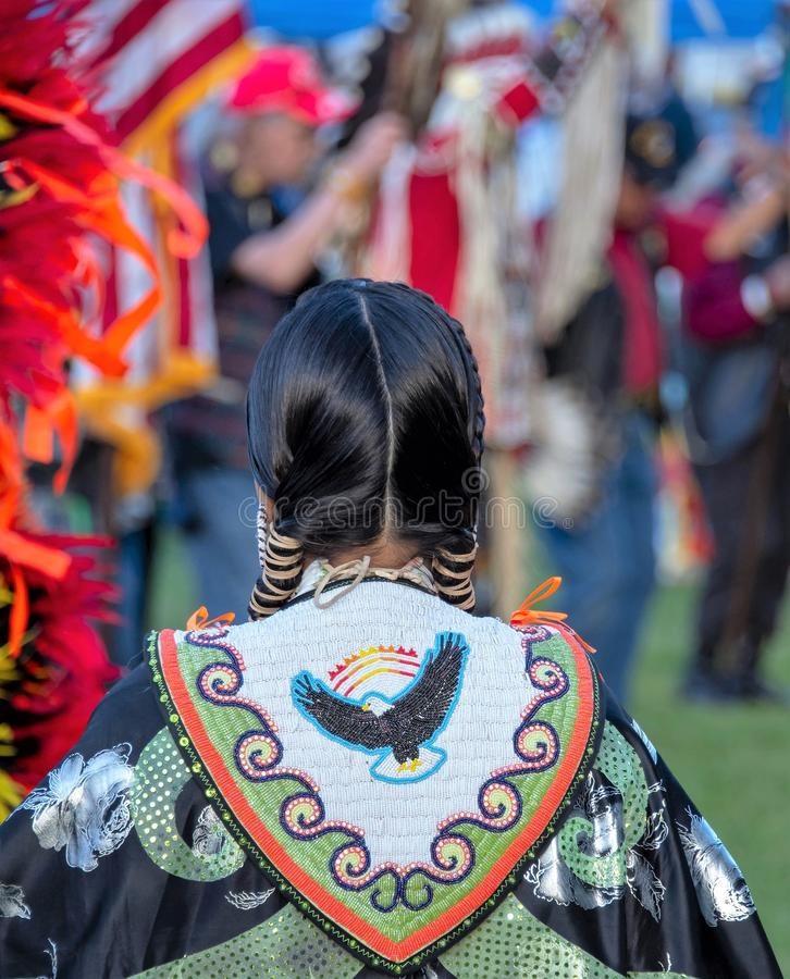 Native American attire royalty free stock photos