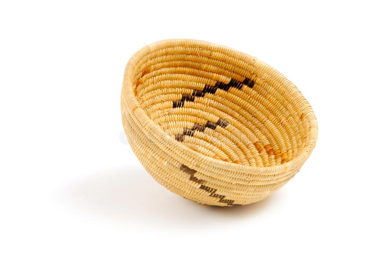 Download Native American Basket Royalty Free Stock Photography - Image: 25139187