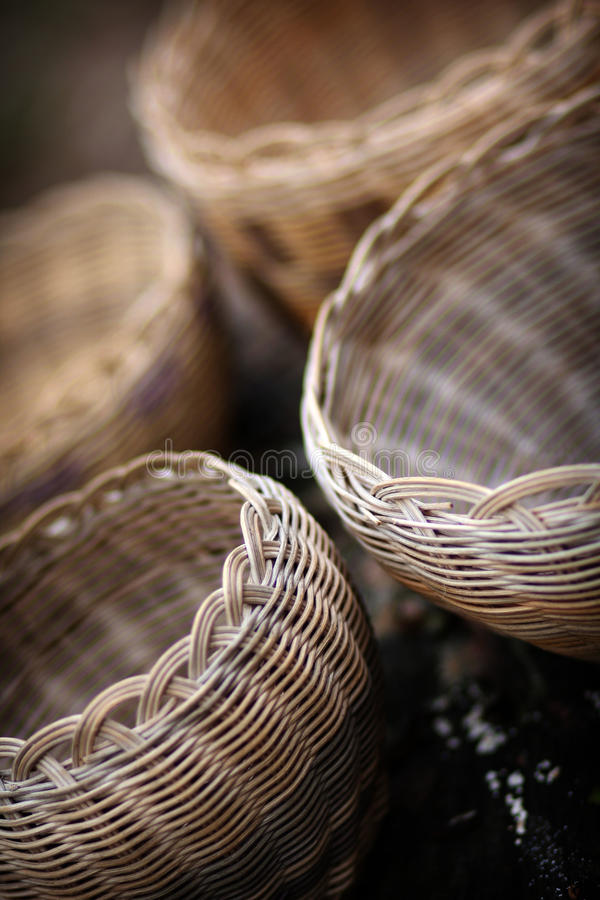 Native American Baskets stock photo
