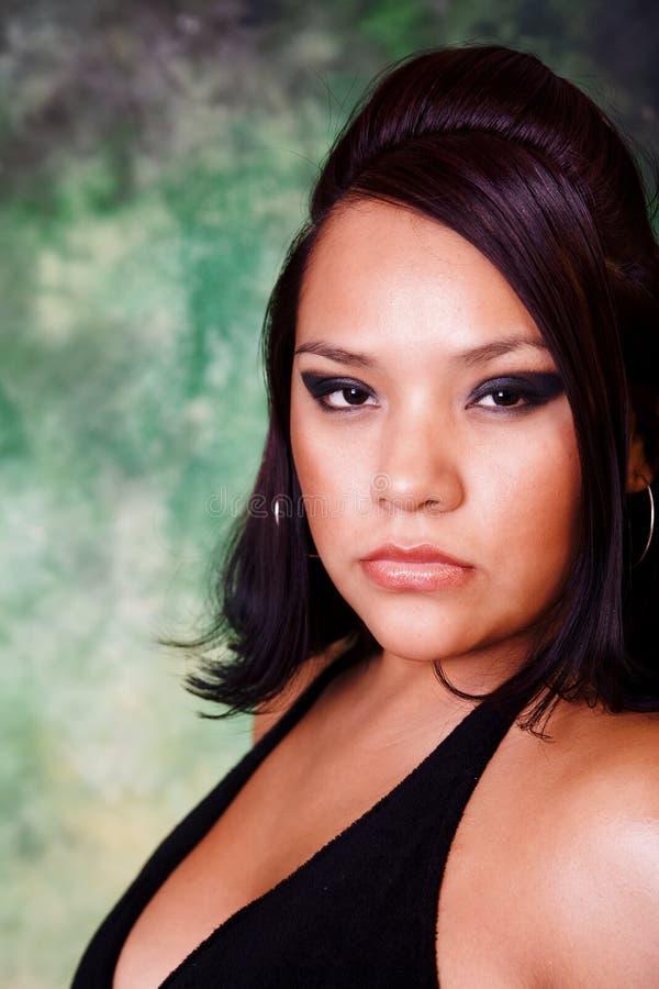 Native American Beauty stock photography