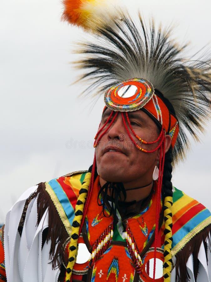 Native American Dancer #13 stock photography