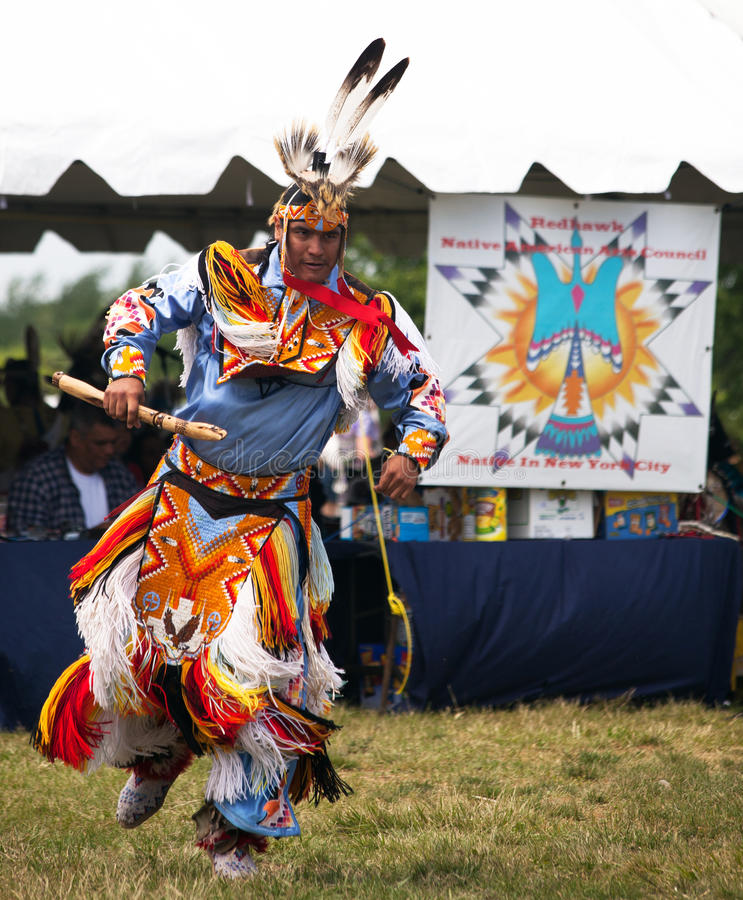 Native American Dancer royalty free stock photography