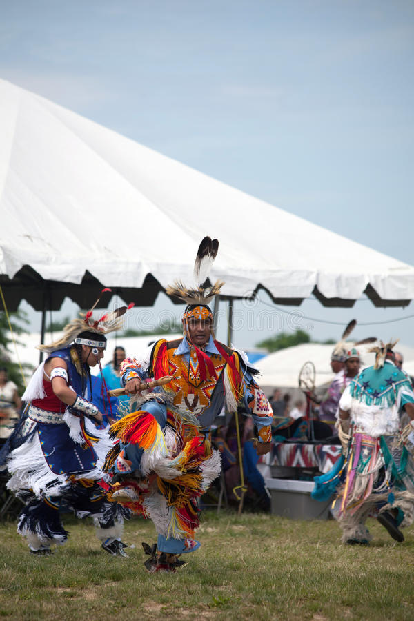 Native American Dancer royalty free stock images