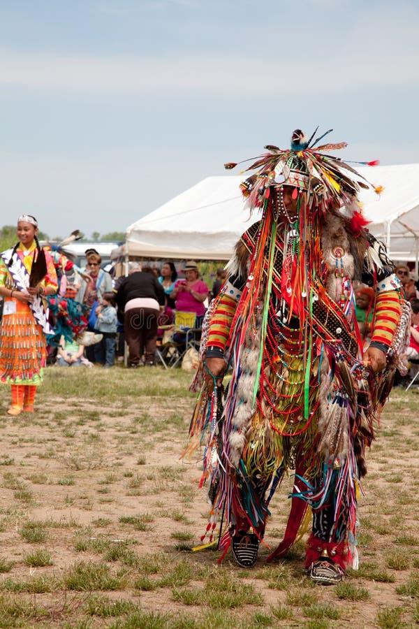 Native American Dancer royalty free stock photo