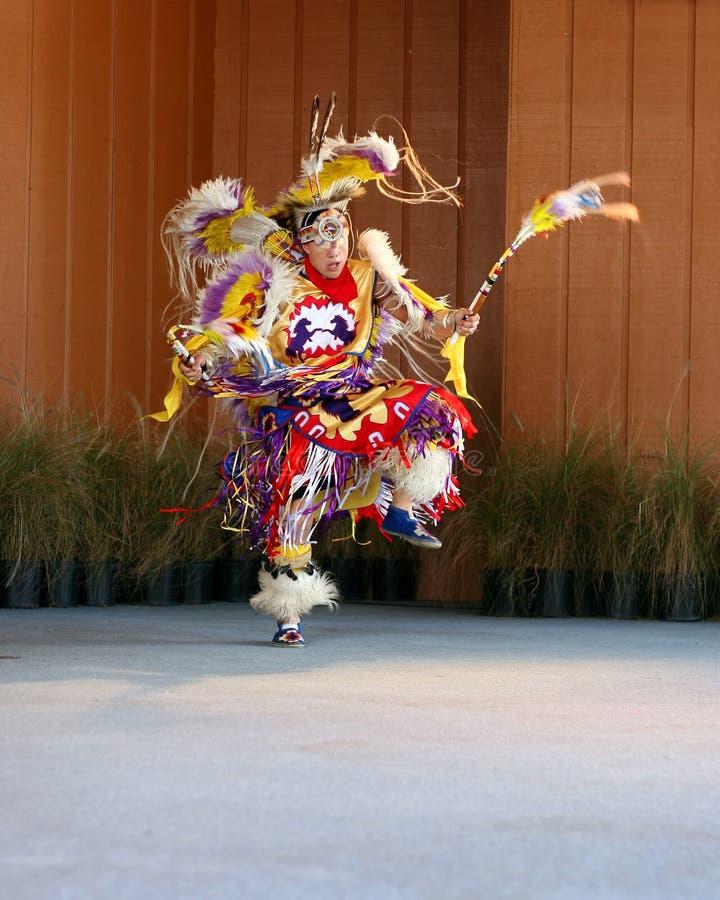 Native American Dancing 4 stock image