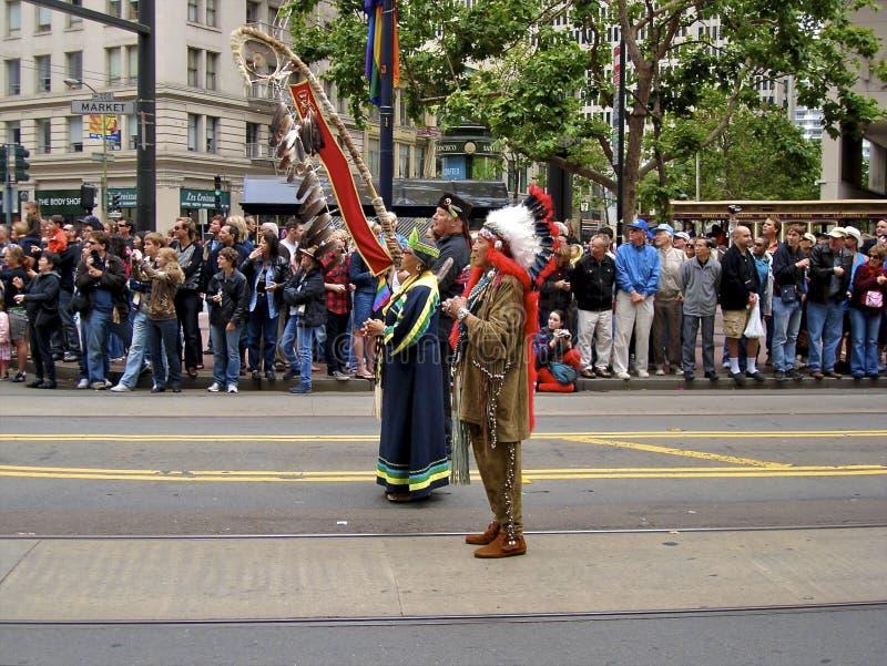 Download Native American Indians At Gay Pride San Francisco Editorial Photography - Image: 22644047