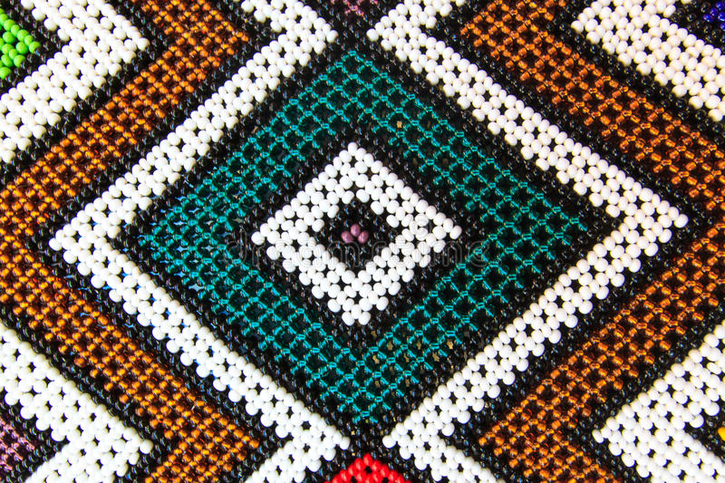 Native American Pearl Pattern stock photo