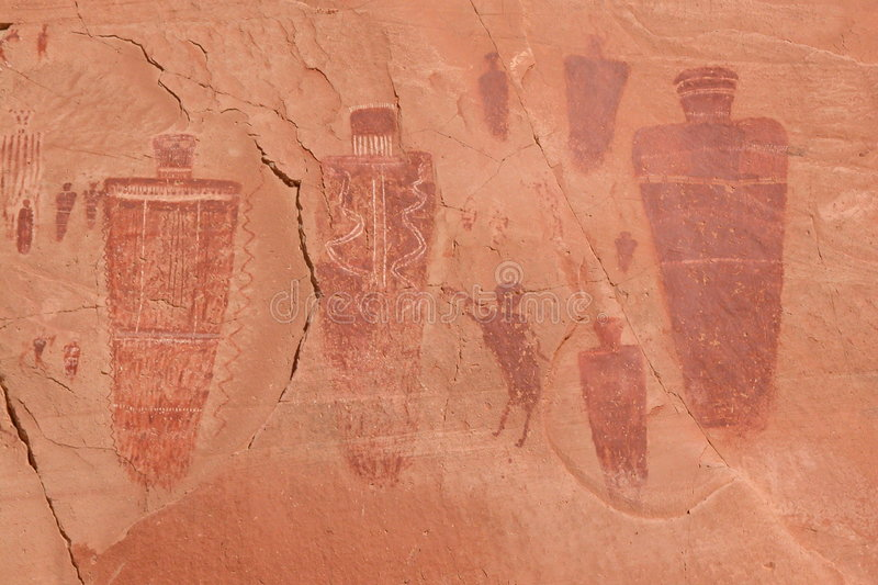 Download Native American Pictographs Stock Photo - Image of america, canyonlands: 165344