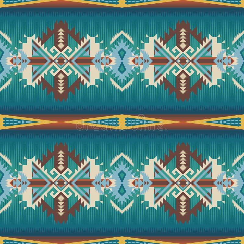 Free Native American Southwest Seamless Pattern Stock Photography - 155671112