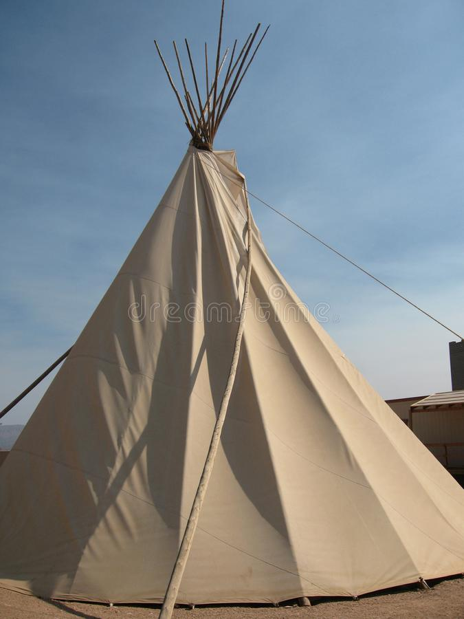 Download Native American Tee Pee At Grand Canyon West Rim In Northwestern Arizona Stock Photo - Image: 101900908