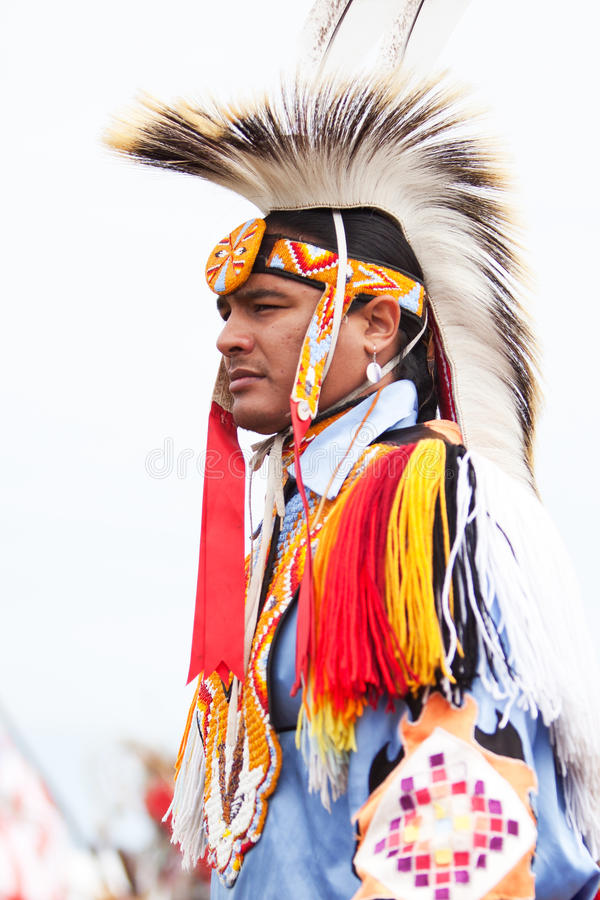 Native Indian royalty free stock photography