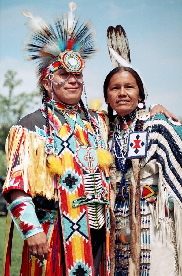 Native Indian Couple Editorial Stock Photo