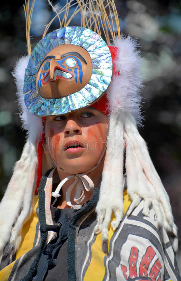 Native Indian people stock photography