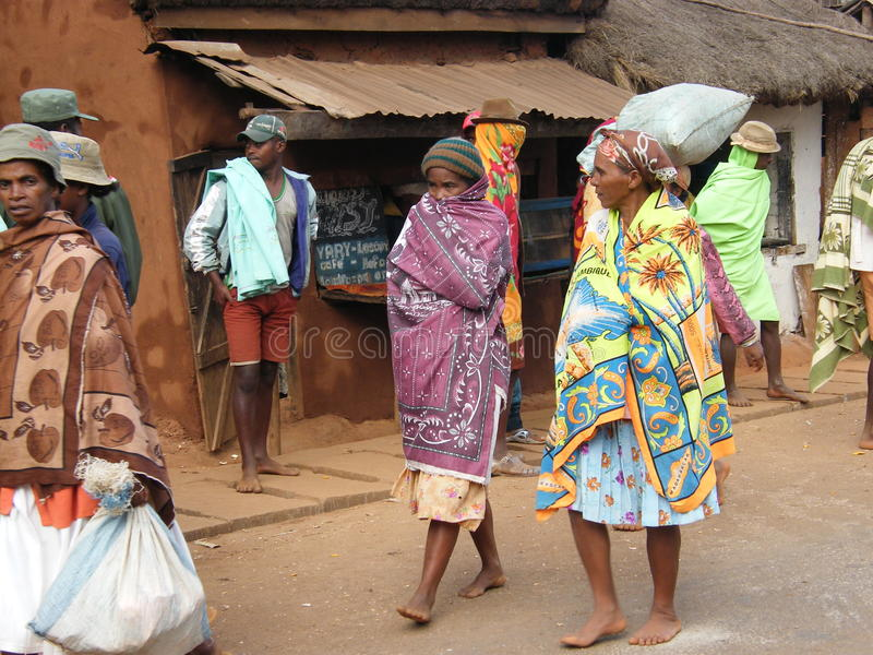 Native Malagasy people royalty free stock images