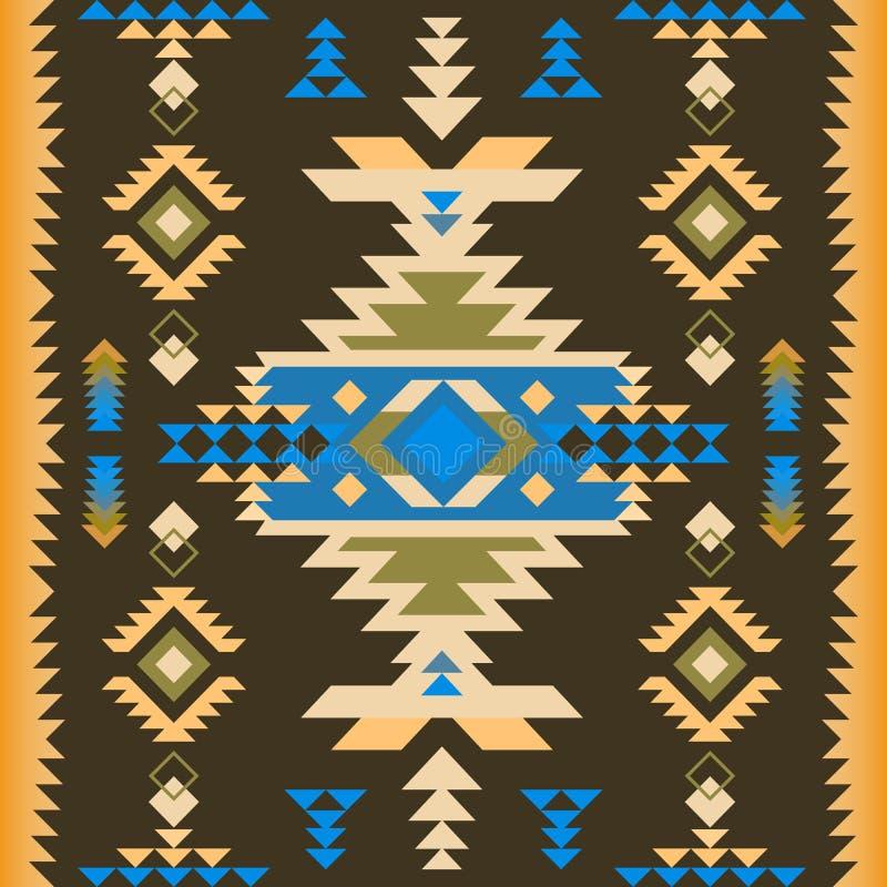 Free Native Southwest American, Aztec, Navajo Seamless Pattern Stock Image - 187884061