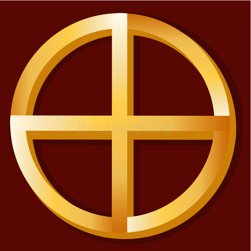 Native Spirituality Symbol Royalty Free Stock Image
