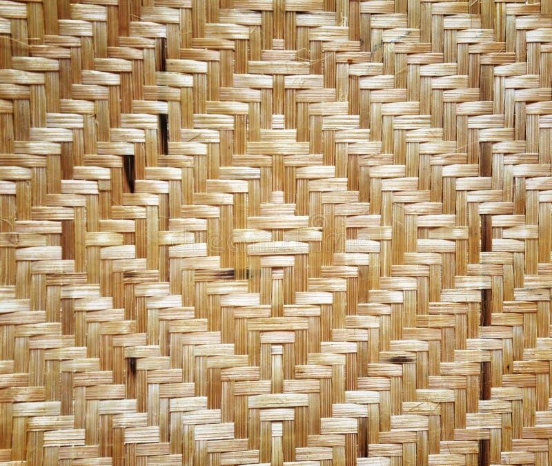 Native Thai style. Bamboo wall texture on box royalty free stock photos