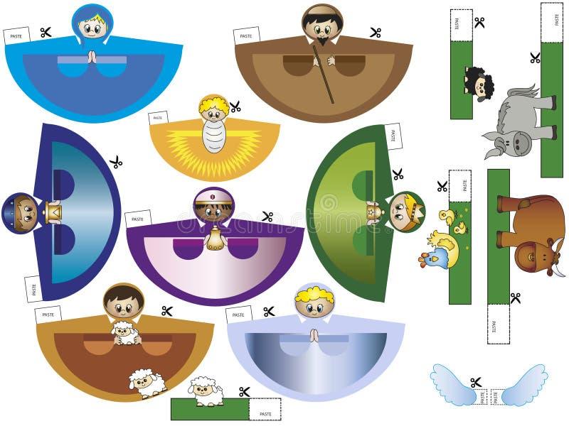 Natividad ilustración del vector