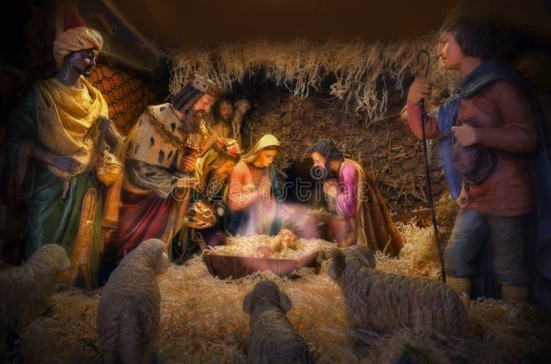 Natividad fotografía de archivo